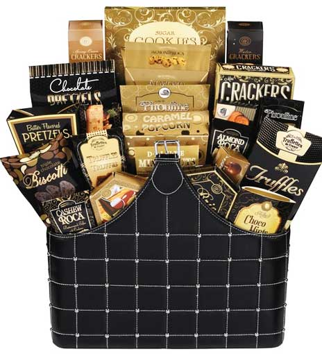 Well decorated customized Canada gift baskets