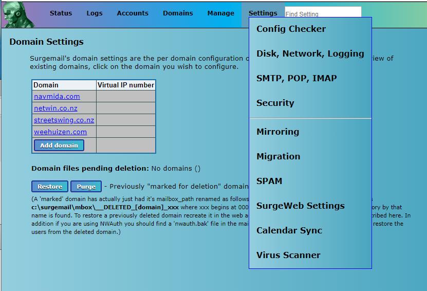 Linux mail server-Server for different platforms!